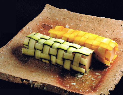 Vegetable Carving Zucchini