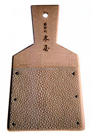 Sharkskin has been used in Japan for centuries, most notably in sword grips,