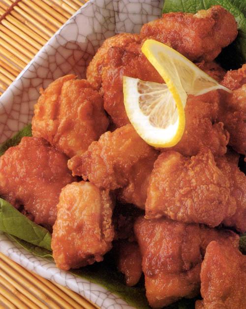 Deep-fried Chicken Nuggets (Tori no kara-age) - Bento.com